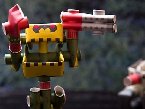 Piperoid - Paper Craft Robots