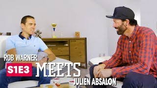 Training & Ripping Trail w/ XC Mountain Biker Julien Absalon   Rob Meets: Ep 3