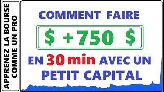 COMMENT FAIRE 750$ EN 30 MINUTES AVEC UN PETIT CAPITAL DANS LES PENNY STOCKS AVEC OHGI