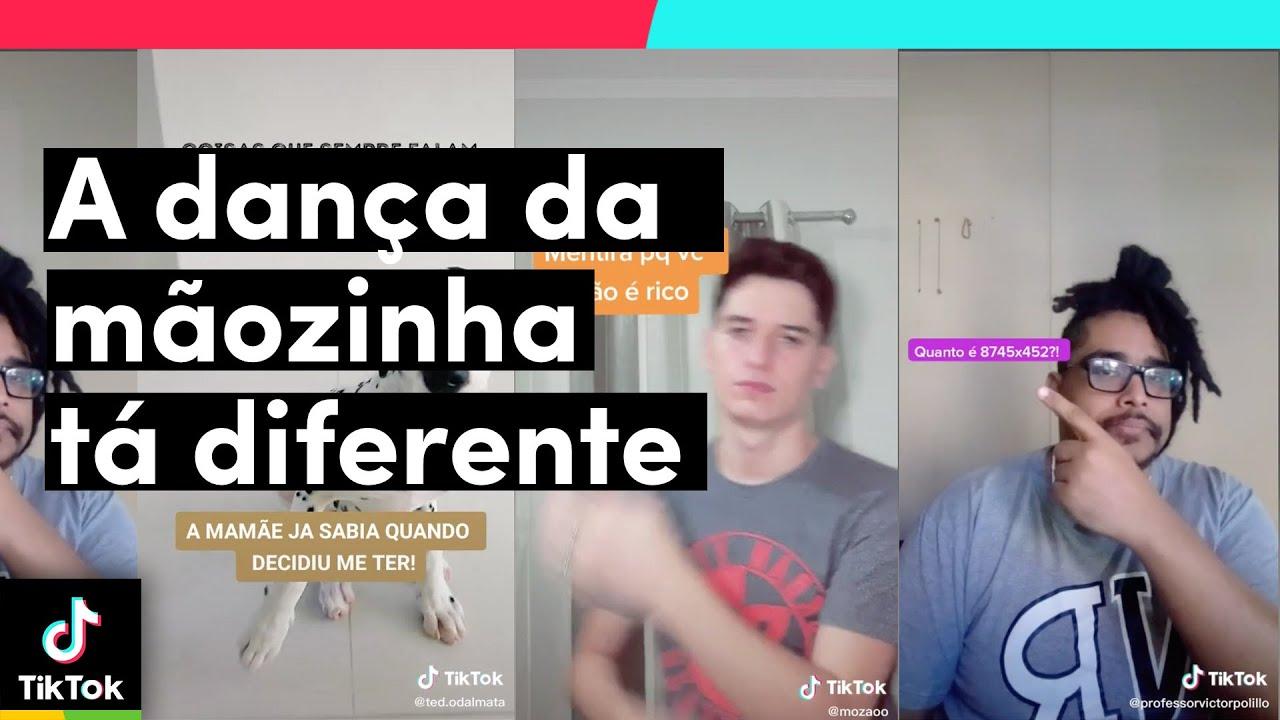 A DANÇA DA MÃOZINHA tá diferente, né? | TikTok Brasil