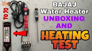 Bajaj Water Heater | Best Immersion Rod | Best Budget Water Heater