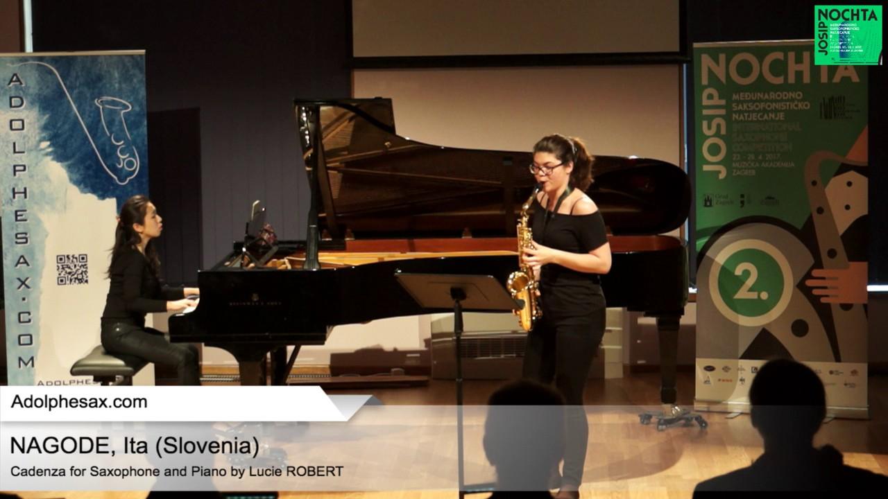 Cadenza by Lucie Robert – NAGODE, Ita Slovenia