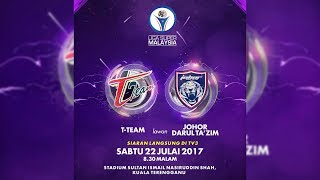 Video Liga Super Malaysia 2017 (Matchday 17): T-Team VS JDT Full Match [22 July 2017] download MP3, 3GP, MP4, WEBM, AVI, FLV April 2018