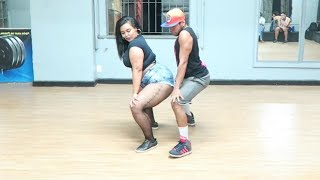 Casal arrasa dançando ABUSADAMENTE - MC Gustta e MC DG COREOGRAFIA