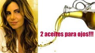Repeat youtube video Concentrado: Arrugas de los Ojos con 2 Aceites /
