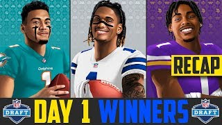 2020 NFL Draft Day 1 Winners & Losers | 2020 NFL Draft 1st Round Winners (2020 NFL Draft Recap)
