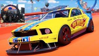 Forza Horizon 3 GoPro Hot Wheels Drift Zones vs 1000hp Mustang