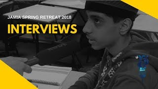 SPRING RETREAT 2018: Interviews