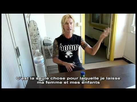 Duff McKagan – Interview à Lille, juin 2011 – GN'R France, Slash France