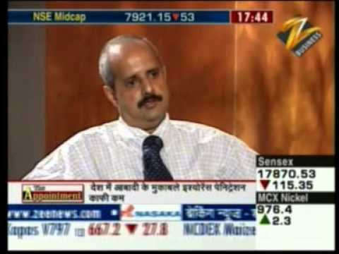 K.G. Krishnamoorthy Rao, MD and CEO, FGII on Zee Business's 'The Appointment' June 18, 2011