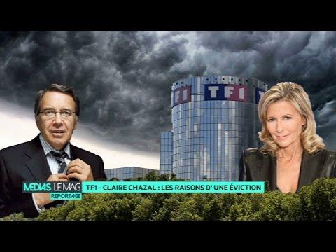 TF1 - Claire Chazal : les raisons d'une éviction