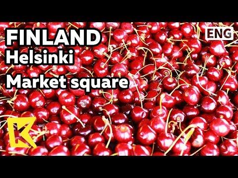 【K】Finland Travel-Helsinki[핀란드 여행-헬싱키]마켓광장/Market square/Port/Fish/Fruit