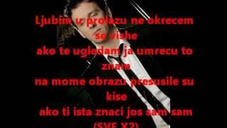 Dzenan Loncarevic - Ljubim u prolazu - tekst - lyrics
