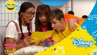 Mickey Mouse Squad - Backstage 7 | Disney Channel Oficial
