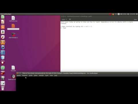 How to solve dependency errors in ubuntu