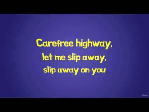 Carefree Highway | Gordon Lightfoot | Lyrics ☾☀