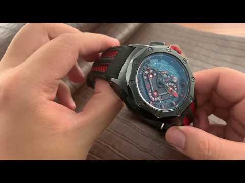 """Đồng hồ Cvstos Chalenge R 50  - rất nhiều chi tiết """"đi mượn""""?"""