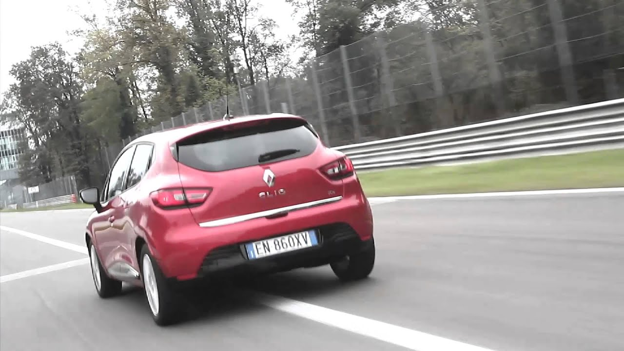 gente motori renault clio 1 0 3 cilindri turbo 90 cv energy youtube. Black Bedroom Furniture Sets. Home Design Ideas
