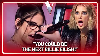 Is she the next BILLIE EILISH? | Journey #135