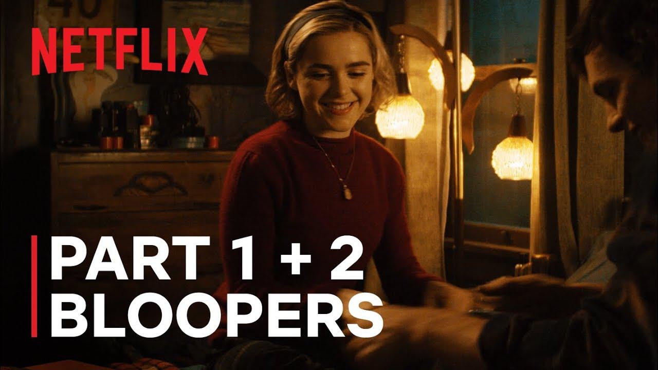 Chilling Adventures of Sabrina   Bloopers Part 1 - 2   Netflix