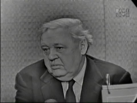 What's My Line? - Charles Laughton; Martin Gabel [panel] (Feb 21, 1960)