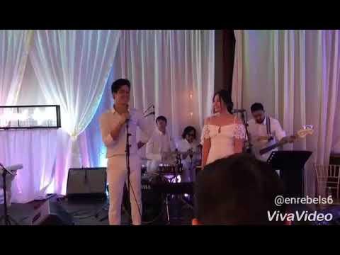 ElNella sings CSN at Maxx&Robb Wedding Reception