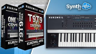 ONE VISION + T9T9 COVER PACK | SOUND BANK | KURZWEIL PC3 / FORTE / SP4 / ARTIS