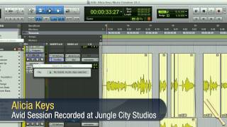 Pitch Shift Using Elastic Audio Properties in Pro Tools 10 - Avid Tutorial Demo