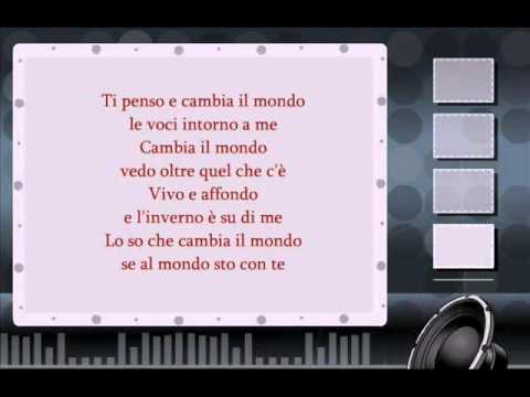 Adriano Celentano-Ti penso e cambia il mondo testo ( testo )