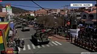 PARADA MILITAR BOLIVIA 2015 (HD)
