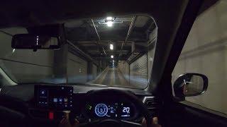 【Test Drive】 2019 New Daihatsu Rocky 1.0L Turbo 4WD - POV Night Drive