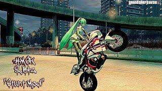 Grand Theft Auto IV ✔ Free Ride Stunt Bike ✔ MSK & BLZ Stunt Mod
