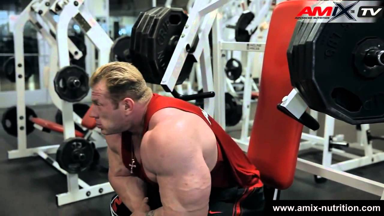 Download Dennis Wolf Amix Team Chest and Triceps Workout