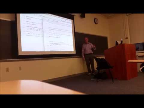 Stephen Wolfram Lecture at Tufts University - January 16, 2015