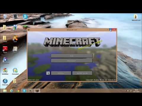 Comment cracker Minecraft 1.6.4 et 1.7.2 (minecraft prenuim gratuit)