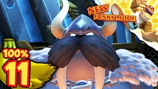Donkey Kong Country Tropical Freeze Nintendo Switch   World 6: 100% NO DEATHS [Part 2]