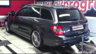 Reprogrammation moteur Mercedes AMG C63 Break 381@476ch o2programmation