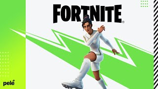 Gesto 'Soco no Ar' do Pelé chegando ao Fortnite