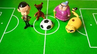 Mr Bean Soccer Game