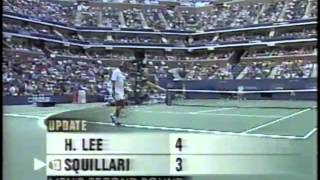 Clement vs Agassi US Open 2000