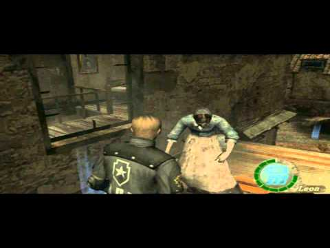 HOW TO CHEAT RESIDENT EVIL 4 ON PS2