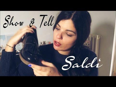 ASMR ITA - Show&Tell SALDI...Ma cosa ho comprato?? 🤦🏻♀️ (whispering, fabric sounds)