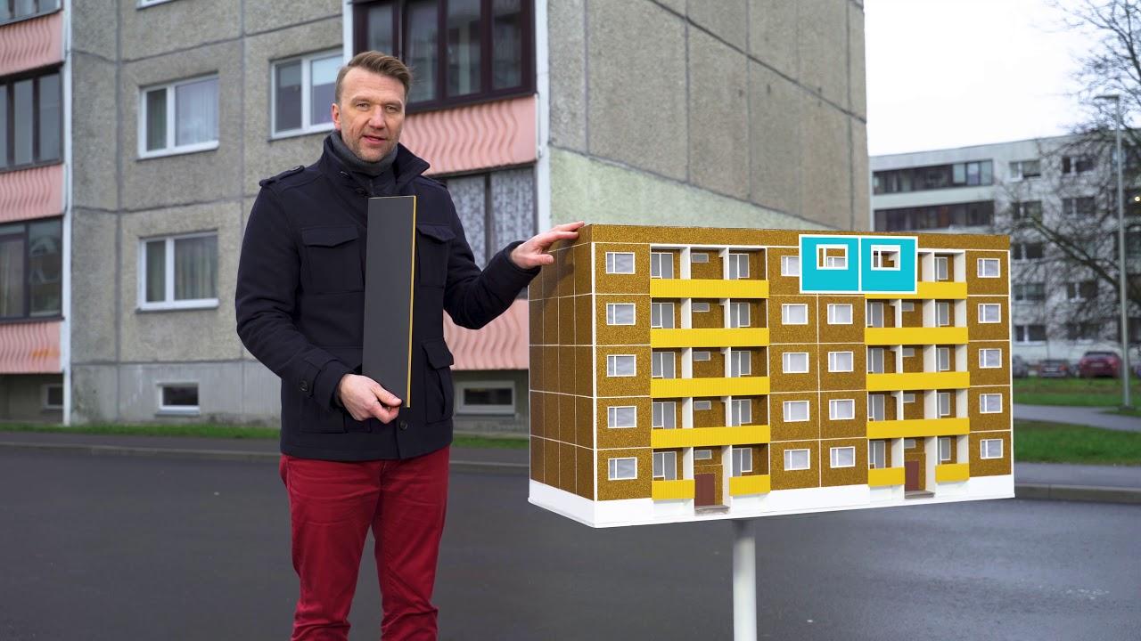 Korteriühistu! Uut moodi rekonstrueerides saad 50% või kuni 1 000 000 eurot toetust!