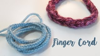 Something a little different today as I show you to make a simple lucet cord with just your fingers. Perfect for an emergency shoe lace, friendship bracelet or as a ...