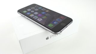 Apple iPhone 6 Unboxing & First Impressions (Space Gray)