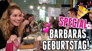 Familie, Freunde, Geschenke: So haben wir Barbaras Geburtstag gefeiert - Vlog 111