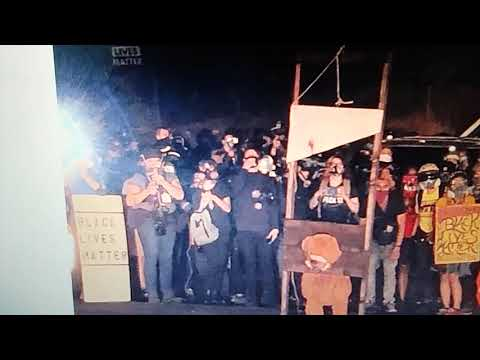 Witches Liberals bring out Guillotines bought under L G B T Obama;  Burn Bibles Churches promote ana