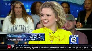 Maddie Poppe and Caleb Hutchinson - Good Morning America