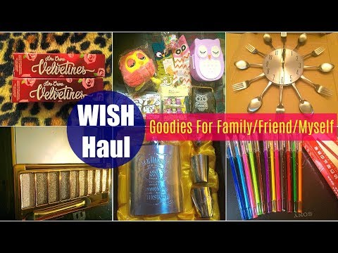 Wish Haul (PRE RECORDED) | Lots Of Goodies Gifts For Family, Friend & Myself...