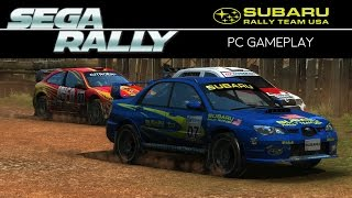 [60FPS] SEGA Rally - PC GAMEPLAY
